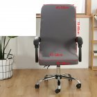 Office Chair  Cover Universal Stretch Desk Chair Cover Computer Chair Slipcovers silver gray