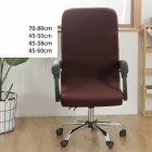 Office Chair  Cover Universal Stretch Desk Chair Cover Computer Chair Slipcovers coffee