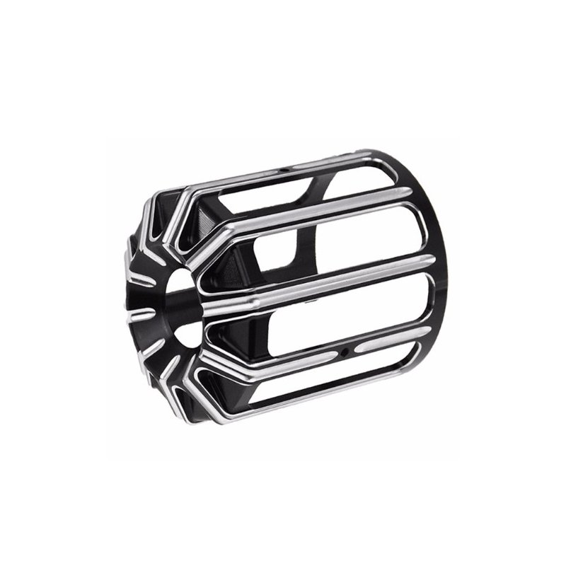Oil Filter Cover Aluminum Alloy  For  Sportster Motorcycles black_The New type