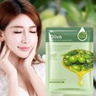 Olive Plant Face Mask Moisturizing Oil Control Blackhead Remover Mask  30g