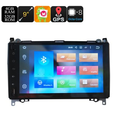 One Din Car Media Player  9 Inch