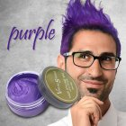 One Time Hair Color Wax Mud Disposable Temporary Hair Dye Cream Hair Coloring Styling Tools