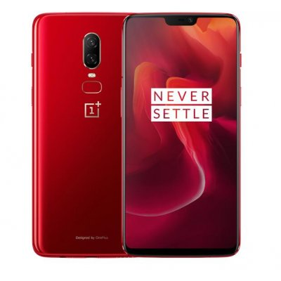 Oneplus 6  6.28 inch Smartphone - red US PLUG