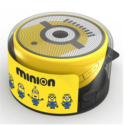 Original Edifier M82 Special Design Mini Protable Waterproof Bluetooth Speaker Bass Radiator Minions Design Perfect Mini Speaker for Home Car Minions