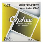 Orphee QC Series 6 Pcs Classical Guitar Strings Clear Nylon Core Silver Plated Wound Classic Guitarra Accessory QC5