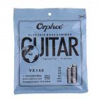 Orphee VX Series 4 5 6 pcs Electric Bass Strings Hexagonal Steel Nickel Alloy Wire Medium Light Strong VX140 6 string