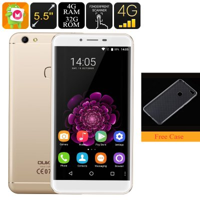 Oukitel U15S Android Phone (Gold)
