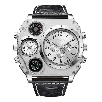 Oulm HP1349 Men Business Quartz Watch White