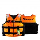 Outdoor Adult Buoyancy Suit Lifejacket Orange M