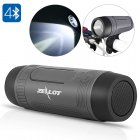 Outdoor Bluetooth Speaker comes with an IP57 waterproof design  flashlight  and built in microphone