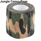 Outdoor Camouflage Tape Retaining Plastic Retractable Non-woven Outdoor Camouflage Tape Jungle camouflage