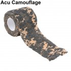 Outdoor Camouflage Tape Retaining Plastic Retractable Non-woven Outdoor Camouflage Tape ACU camouflage