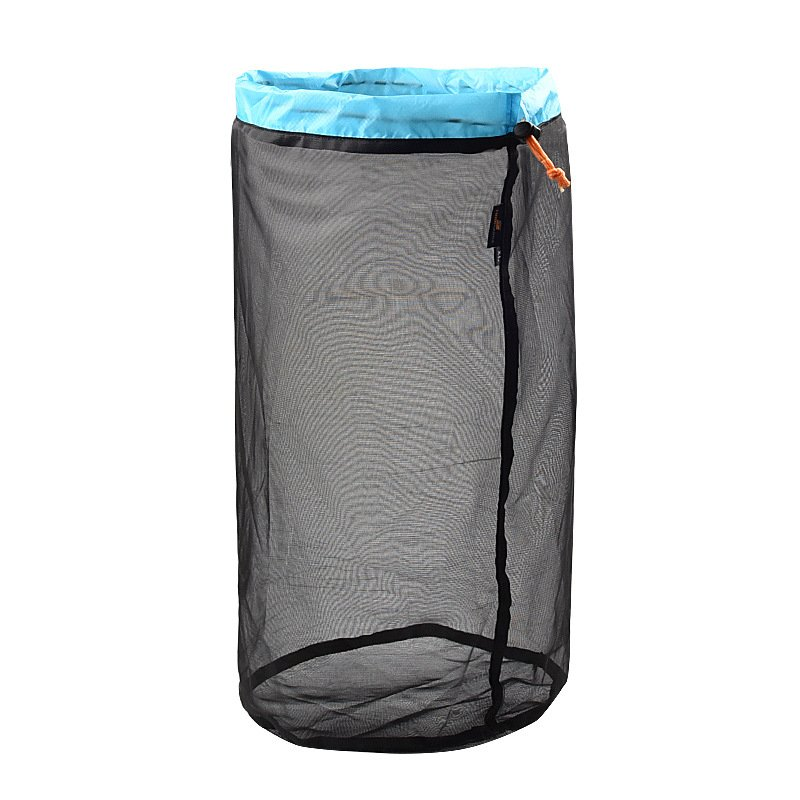 Outdoor Camping Hammock Sleeping Bag Compression Bag Waterproof Stuff Bag Hammock Storage Pouch Blue black XL