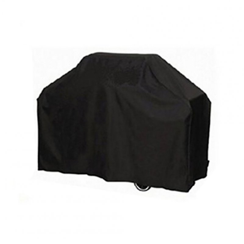 Outdoor Polyester BBQ Furniture Dust Black Cover black_S: 145x61x117cm