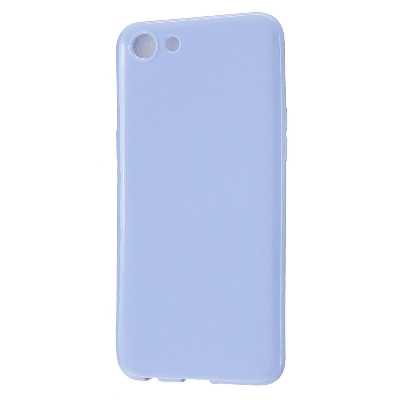 For OPPO A79/A83 Cellphone Cover Soft Hands Feel No-Fade TPU Phone Case Full Body Protection Taro purple