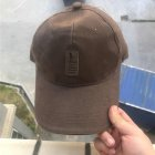 Outdoor Sport Casual Fashion Sun ProtectedGolf  Baseball Cap Snapback Hat dark brown_adjustable