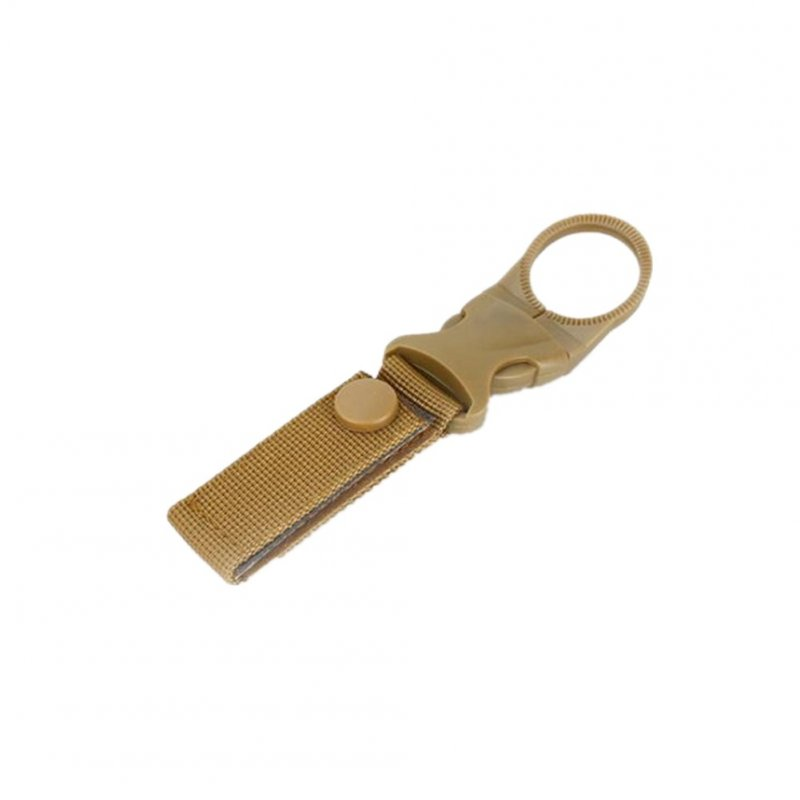 Nylon Ribbon Water Bottle Buckle - Khaki