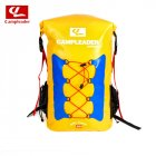 Outdoor Three Color Backpack Swimming Fashing Drifting River Tracing Backpack Airbag yellow_56*32*20cm