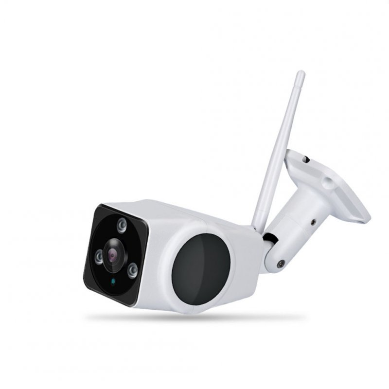 Outdoor Waterproof 360-degree Panoramic Wireless Surveillance Camera Machine Home Phone Remote Card Smart Monitor US Plug