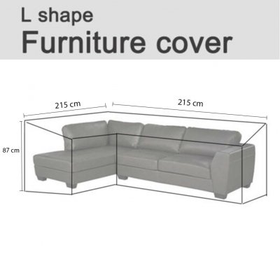 Wholesale Outdoor Waterproof Courtyard Furniture Cover L Shaped