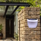 Outdoor Waterproof Lighting Cordless Solar Lights Light-operated Wall Garden Fence Lamp