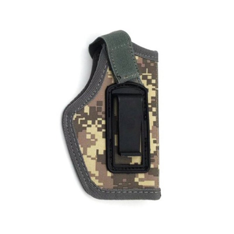 Outdoor sports equipment IWB Concealed Holster CS Invisible Waist Bag Oxford Cloth Left Right Intercom ACU camouflage_14*6.5cm