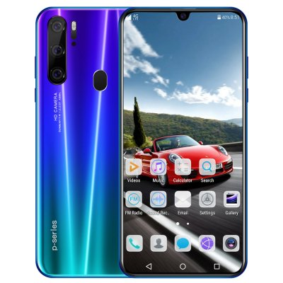 P35 PRO Android Smartphone 6G+128G Blue_UK