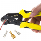 PARON Yellow Black Alloy Steel Multi-function JX-1601-2546 Ratchet PV Connector Terminal Crimping Clamp JX-1601 -2546