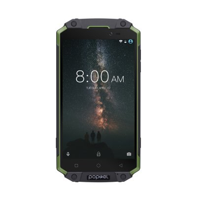 POPTEL P9000 MAX 5.5 Inch Smart Phone_Green