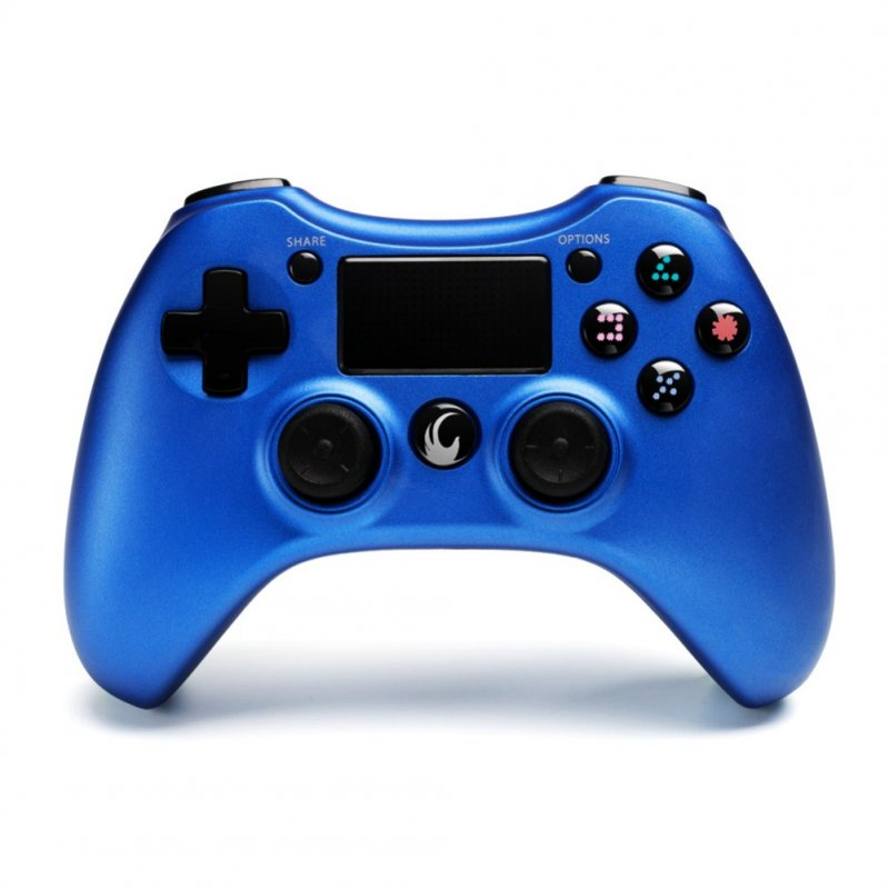 PS4 Wireless Game Hand Shank Full Function Hand Shank Steel blue