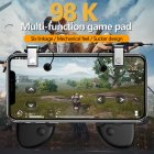 PUBG Mobile Game Controller Gamepad Trigger