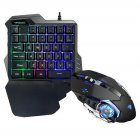 PUBG Mobile Gamepad Controller Gaming Keyboard Mouse Converter for Apple Android Phone G30 keyboard + G3 gaming mouse