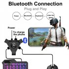 PUBG Mobile Gamepad Controller Gaming Keyboard Mouse Converter for Android Phone to PC Bluetooth Adapter  Android Apple Universal