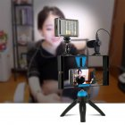 PULUZ Mobile Phone SLR Camera Photography Set for Live Broadcast Live blue