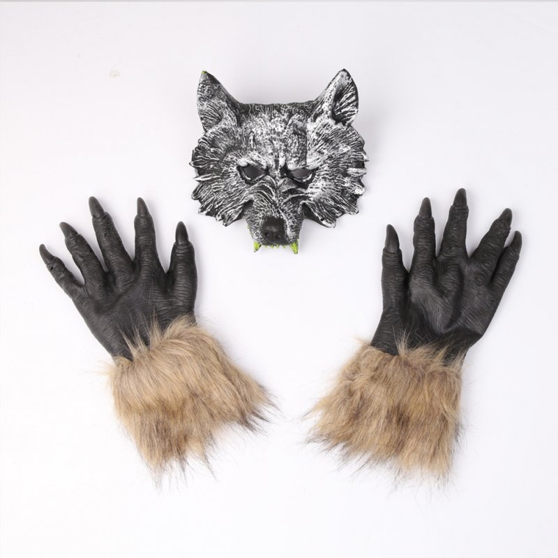 PVC Animal Wolf Masks for Kids Adult Masquerade Party Masks Costume Wolves Ball Christmas Halloween Navidad
