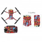 PVC Shell Decoration Sticker for DJI Mavic Mini Drone Body Arm and Controller Waterproof Anti-Scratch Full Protective Film graffiti