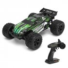 PXtoys 9202 2.4G 1/12 Scale 4WD High Speed 40km/h Brushless Cross Country Semi Truck RC Car Truck green