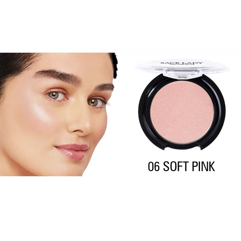 Pearlescent Monochrome Blush Rouge Bronzing Powder  SL006 06