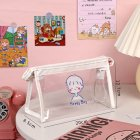 Pencil Bag Transparent Waterproof School Pencil Case for Kid Girl Office Travel Supplies boy