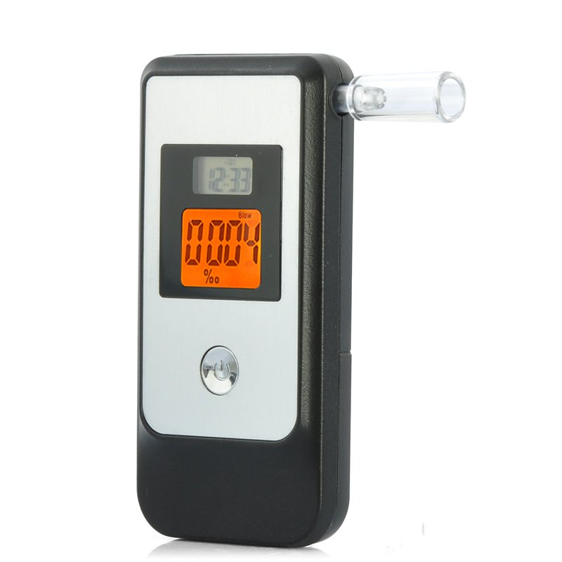 Breathalyzer with Retractable Mouthpiece