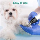 Pet Automatic Nail Grinder Powerful Dog Cat Nail Clipper Trimmer Grooming Tool Electric nail polisher