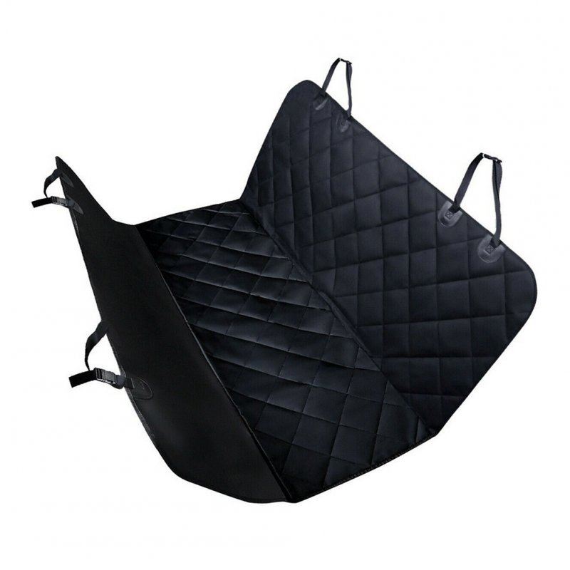 Pet Car Seat Cover 60 x 57in 600D Oxford Cloth Waterproof Rear Back Seat Protector Dog Mat Without wings