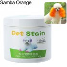 Pet Grooming Hair Color Cream Hairdressing Gel for Dogs Orange