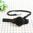 Pet Leashes Hands-free Automatic Shrink Nylon Leash Pets Pull Dog Chains Traction Ropes Black_L