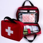 Pet Outdoor Camping Bag Pet Supplies Dog Oxford Cloth First-aid Kit red