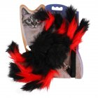 Pet Spider Shape Chest Strap Leash for Cat Halloween Christmas Wear red One size
