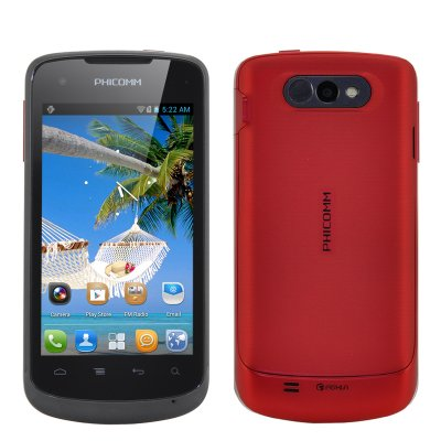 Phicomm FWS710 Android Smartphone (Red)