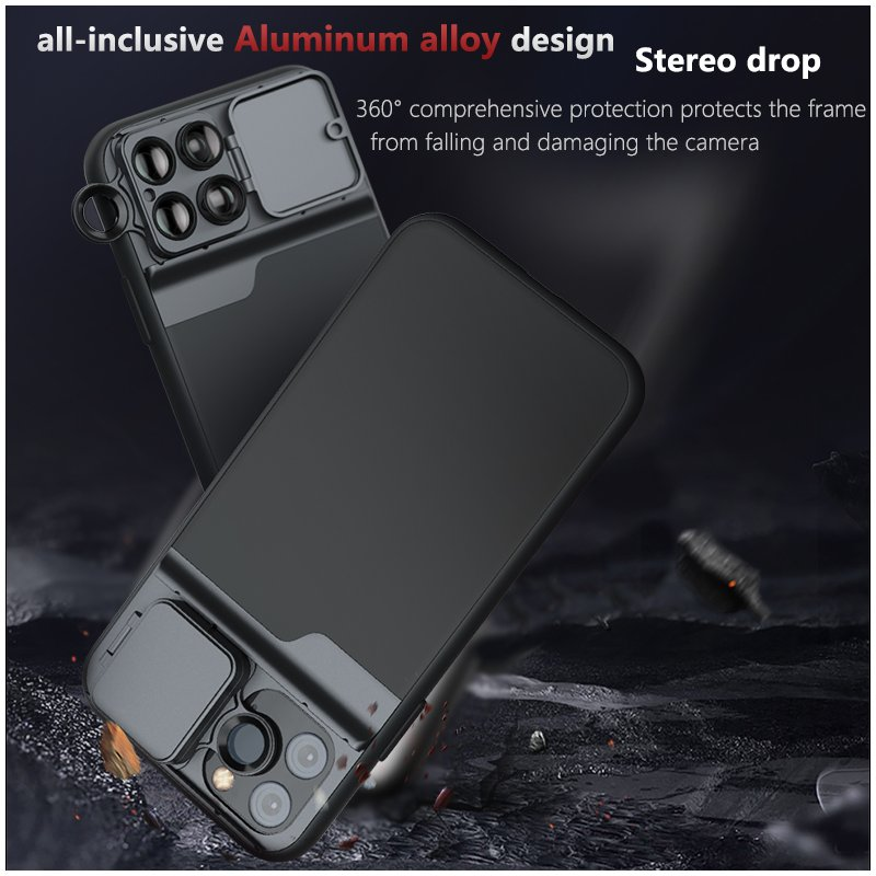 Phone Camera Lens 11 Smartphone PRO MAX Wide Angle Lens Cpl Filter Lens Mobile Phone Accessories iPhone11 PRO five lens phone case