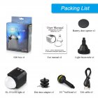 Photographic Lighting Waterproof Camera LED Photo Video Fill Light Lamp 60M Underwater Diving Photography Light black