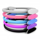 Pilates Yoga Ring Full Body Training Stretching Fitness Equipment Exercise Circle Gym Home for Women Men purple